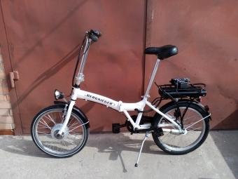 Электро велосипед складной Bergsieger