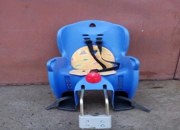 Кресло детское велосипедное HAMAX